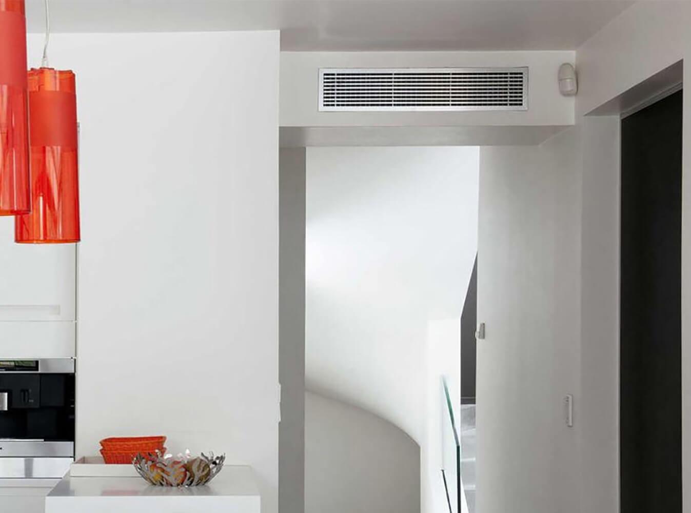 Installation Chauffage réversible gainable Mitsubishi Saint jean de védas - Sols Energies Bains